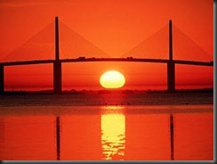 Sunshine Skyway Bridge, Tampa Bay, Florida