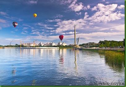 Hot Air Balloon Putrajaya 2011
