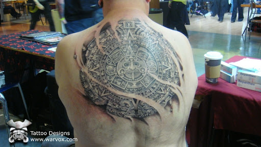 by Felix Pacheco WARVOX Pre Hispanic Mexican tattoos, inspired by Mayan,
