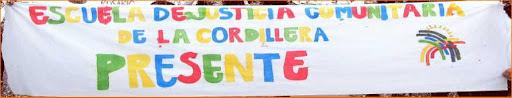 Escuela de Justicia Comunitaria de la Cordillera