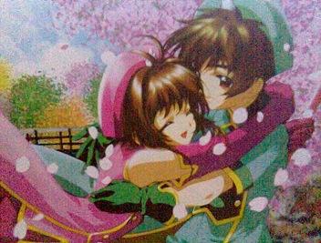Sakura y Shaoran