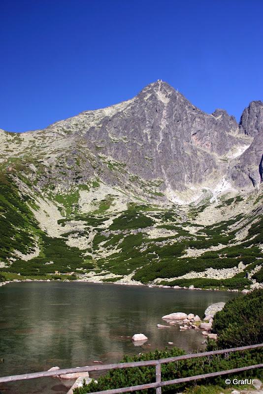 Kőpataki tó, Lomnici csúcs