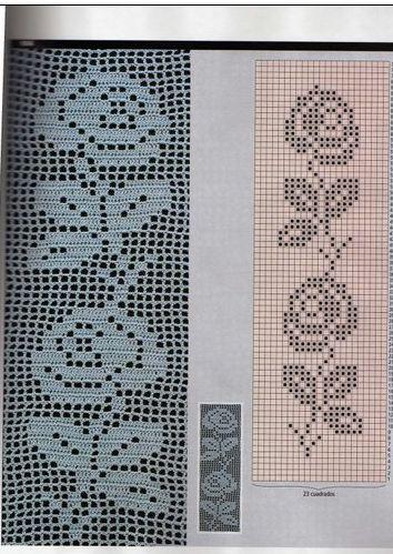玫瑰图解 - 阿明的手工坊 - 千针万线