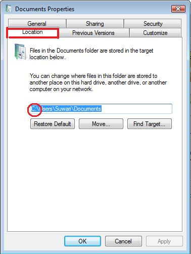 how to change my picture folder location