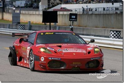 #62 Risi Competizione Ferrari F430 GT: Mika Salo, Jaime Melo, Pierre Kaffer back with a tire issue