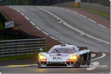 04-11.06.2010 Le Mans, France, #50 Larbre Competition Saleen S7R: Roland Berville, Julien Canal, Gabriele Gardel