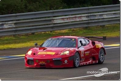 04-11.06.2010 Le Mans, France, #82 Risi Competizione Ferrari F430 GT: Jaime Melo, Gianmaria Bruni, Pierre Kaffer