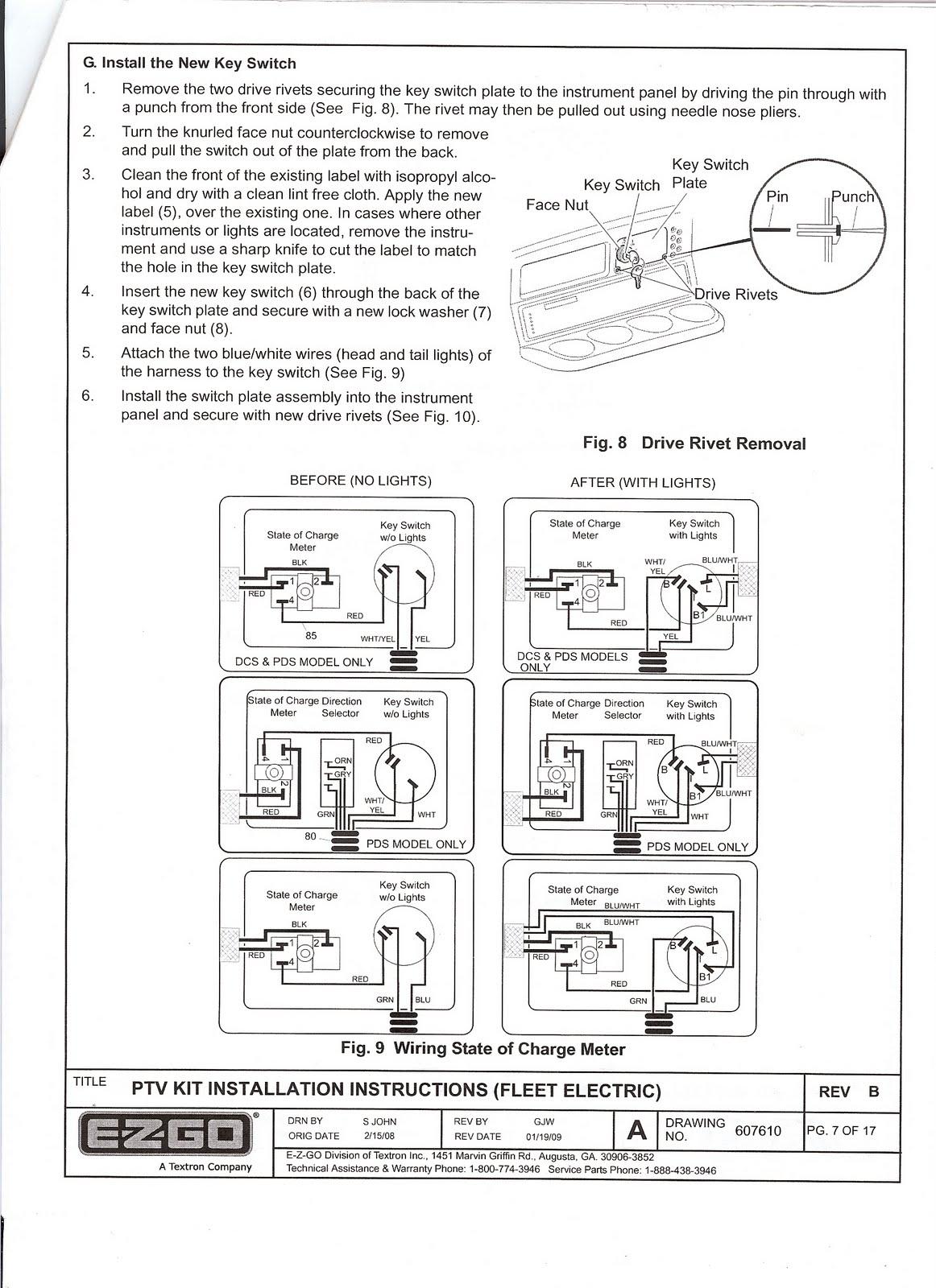 Ezgo TXT Wiring-Diagram
