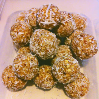 Lime and Coconut Balls