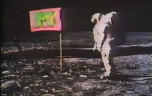 MTV moon landing
