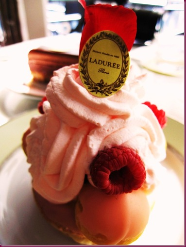 laduree saint honore rose framboise