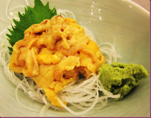 tanabe uni sashimi
