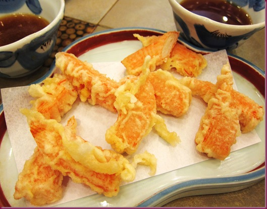 tanabe kani tempura