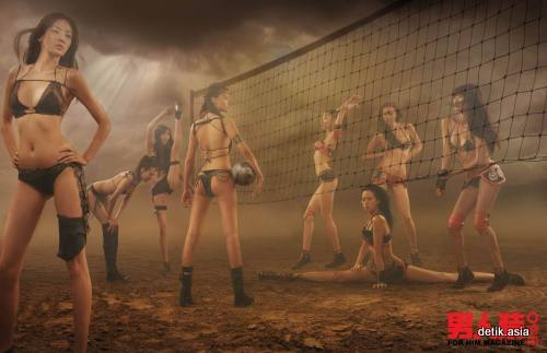 HOT GIRLS !Kungfu Soccer dari Gadis China (BB++)