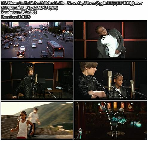 Justin Bieber Jaden Smith. Justin Bieber - Never Say