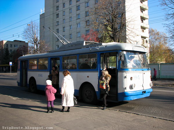 Ровенский троллейбус