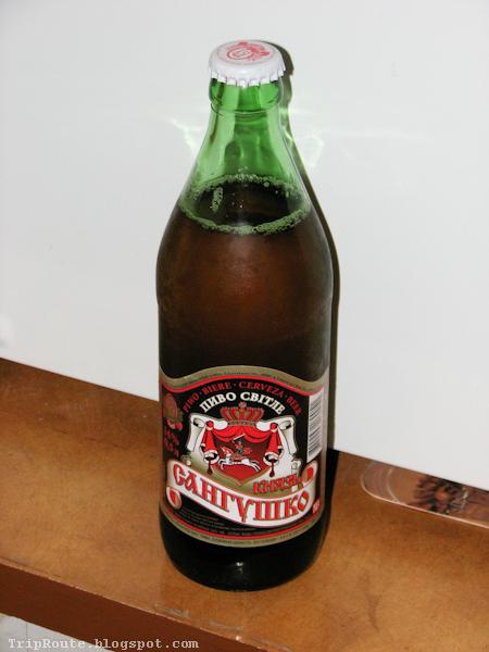 Украинское пиво - Князь Сангушко