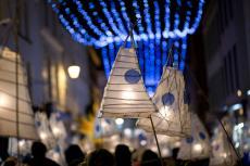 Средневековая рождественская ярмарка в Таллинне