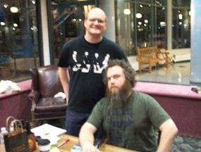 Logan and Patrick Rothfuss
