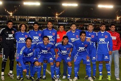 Universidad de Chile venció 3-2 al Flamewngo en Brasil