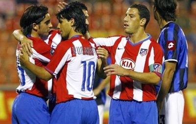 Atlético de Madrid  4, Valencia 1