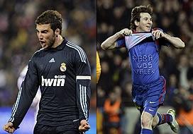 'El hat-trick' de Higuaín y Messi.