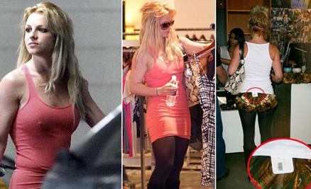 Britney Spears y sus descuidos personales                    Foto: Dailymail.com.uk
