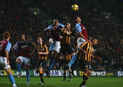 Hull City v Aston Villa