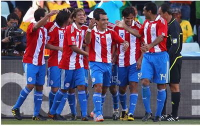Paraguay enfrenta a España en cuartos de final