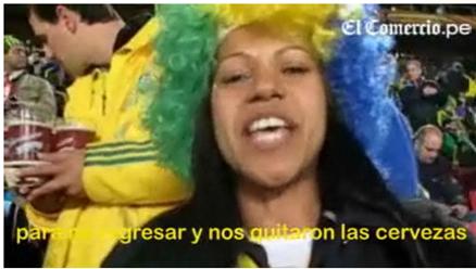Hinchas brasileños hicieron pasar mala noche a selección chilena