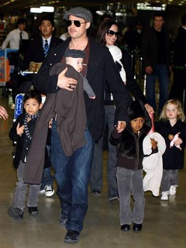 Hijos De Brad Pitt Y Angelina Jolie. Hijos de Brad Pitt y Angelina