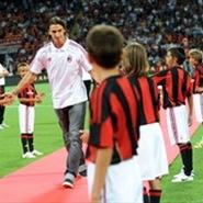 Zlatan Ibrahimovic al AC Milán