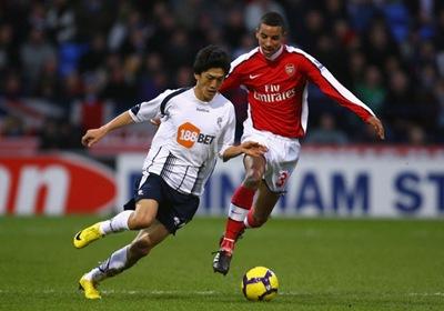 Arsenal vs. Bolton Wanderers