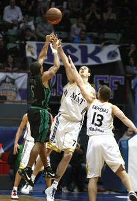 Menorca Basquet visita alk Real Madrid