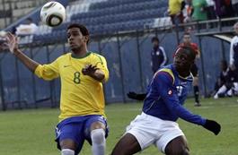 Colombia vs Brasil, Sub 20