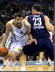 Efes Pilsen vs Real Madrid