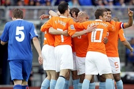 Holanda vs Austria