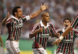 Fñluminense de Brasil enfrenta al Nacional de Uruguay por la Copa Libertadores
