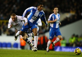 Wigan Athletic vs. Tottenham,