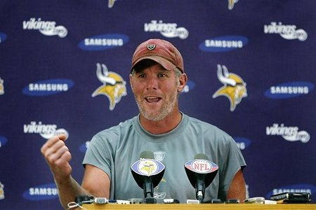 brett favre vikings celebrating. I knew that the real Brett