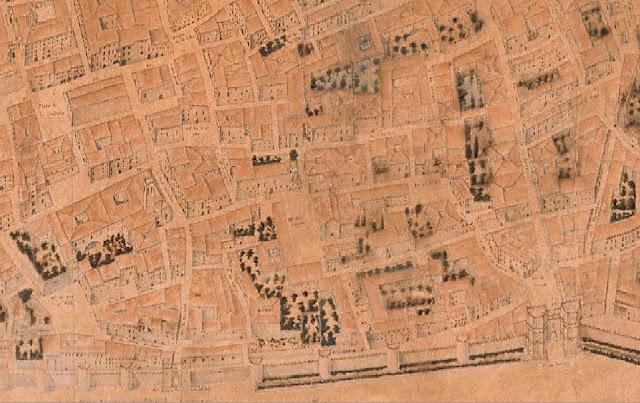 1704. Plànolde Vicent Tosaca i Mascó