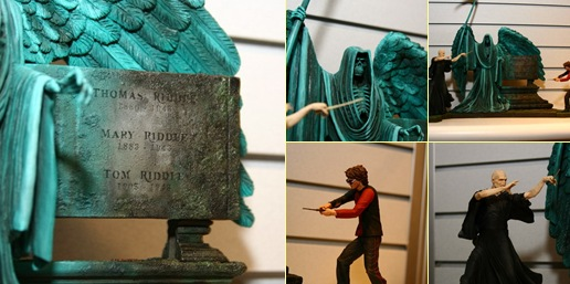 Exibir Harry vs. Voldemort box set - Figures.com