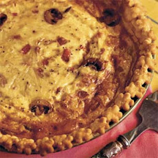 Ham-and-Bacon Quiche