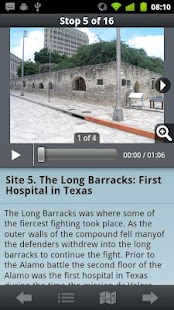 iTour/Audio Tour of the Alamo - screenshot