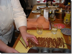 Tillverkning av bastkjol