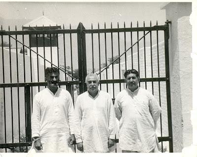 Gul Khan Nasir, Ghaus Bakhsh Bizenjo and Akbar Bugti