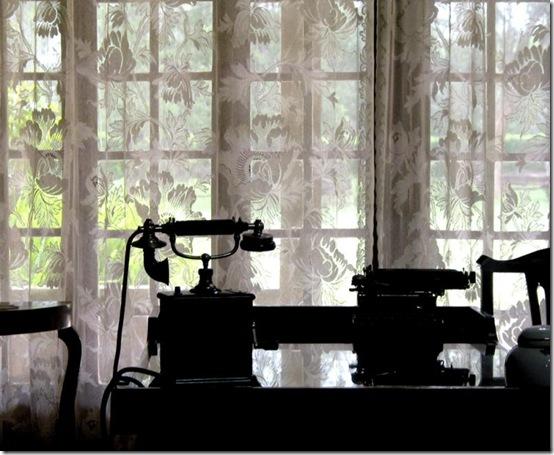 Karen Blixen's desk, Nairobi, Kenya