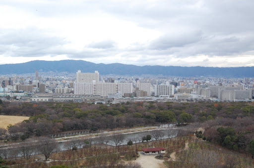 鳥瞰大阪市
