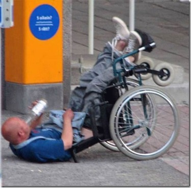 87 Wheelchair Drunk