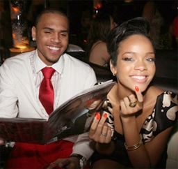 Chris y Rihanna